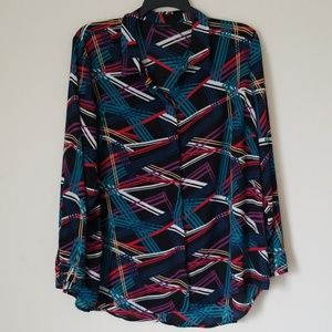 Lane Bryant Multicolored Blouse Sz.  22/24